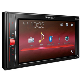 Som Bluetooth Mp3 Player Pioneer Mvh-a208vbt 6,2 Polegadas