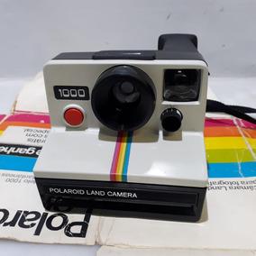 Câmera Fotográfica Polaroid Land 1000 C/ Filme Usado Raro