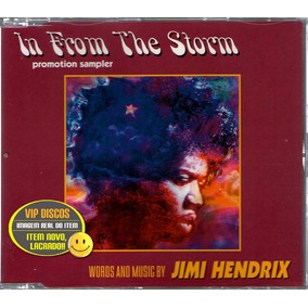 Jimmy Hendrix Cd Single In From The Storms 4 Faixas - Raro