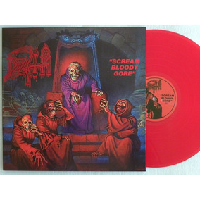 Lp Death Scream Bloody Gore Capa Dupla Disc Duplo Red Ed Lim