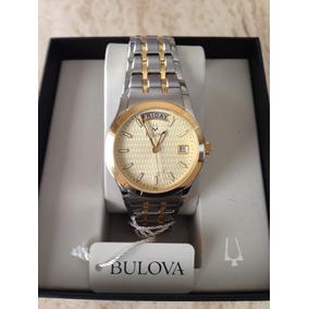 Reloj Bulova Hombre Original # 98c60