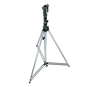 Tripode Manfrotto De Acero Inoxidable 3mt Altura