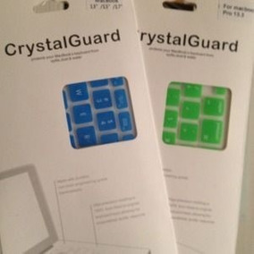 Protetor De Teclado De Silicone Crystal Guard Para Macbook