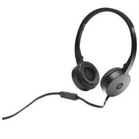 Fone De Ouvido Com Microfone Dobrável Hp H2800 Preto