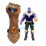 Combo Thanos Muñeco Thanos Inifinity War + Guante Puño