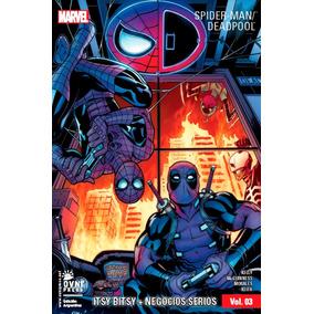 Cómic, Spiderman/ Deadpool Vol 3. Ovni Press