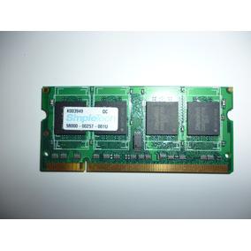 Memoria Ram Ddr2 Pc2-4200 512mb 266 Mhz