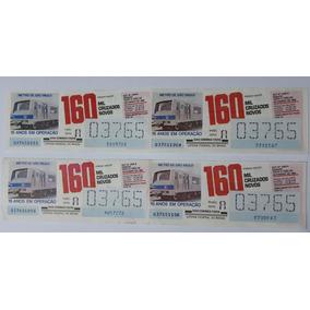 Bilhete Loteria Federal 1989 : Metrô De São Paulo : 15 Anos