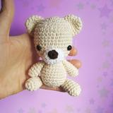 Muñeco Osito Souvenir Crochet Amigurumi Cumpleaños