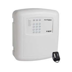 Central De Alarme Max 4 Ecp Com Discadora + 1 Controle