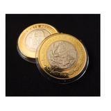 Cápsula De Acrílico Para Moneda De 20 Pesos (32mm)