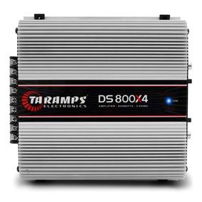 Modulo Taramps Ds800 X4 800w Rms Amplificador 4 Canais