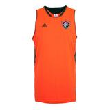 Camisa Fluminense Basquete Regata adidas Laranja Rarissima