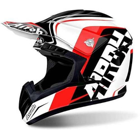 Capacete Airoh Motocross Switch Sign Red Gloss