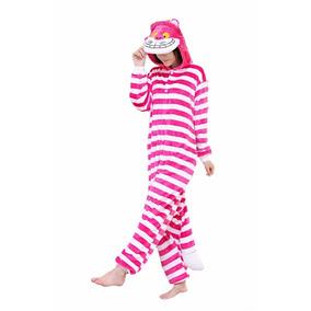 Gato Alicia El Pais De Las Maravillas Pijama Mameluco Polar