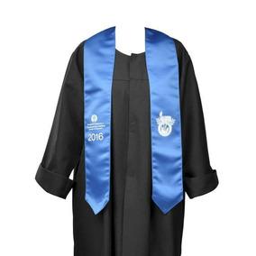 Bandas Estolas Bordadas Graduacion Toga Birretes Unoformes