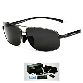 Óculos De Sol Quadrado Masculino Polarizado Veithdia Origna