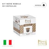 30 Cápsulas Chocolate Avelã Nero Nobile-compativel Nespresso