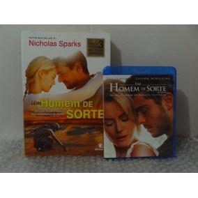 Livro + Blu-ray Um Homem De Sorte - Nicholas Sparks