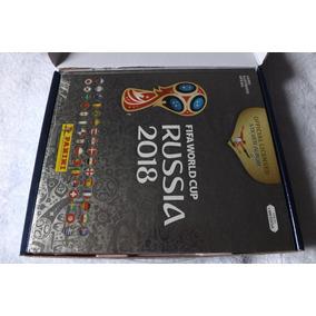 Kit Completo Copa Do Meundo Da Russia 2018-album+box