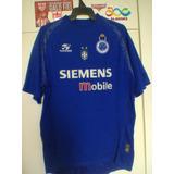 Camisa Cruzeiro/mg Topper 2004 De Jogo.