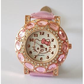Relógio Feminino Hello Kit Infantil Criança Menina
