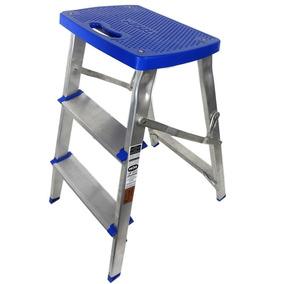 Escada Banqueta De Aluminio - Mor