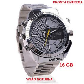 22e1e53c6d1 Relogio Espiao 16gb Prova Dagua Visao Noturna Pronta Entr ...