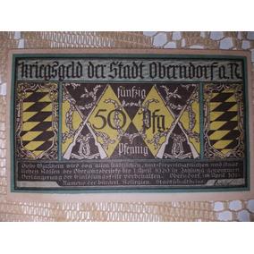 2 Cédulas Da Alemanha Década De 1920.
