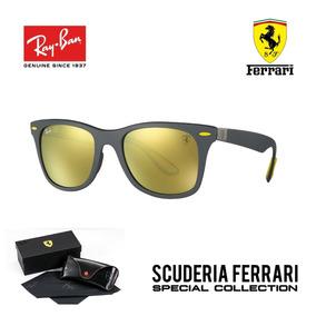 86585b890279a Ray Ban 4195 Wayfarer Liteforce Ferrari Carbono Original