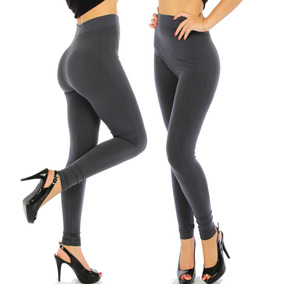 20 Leggins Jera Jeans Dama Termicos Pantalones Faja Afelpado