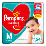 Pañales Pampers Supersec - Ver Talles