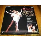 The Royal Ballet Romeo Y Juliet Laserdisc Envio Gratis