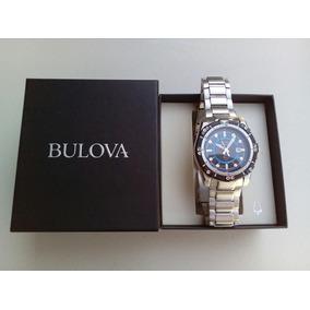 Reloj Bulova Modelo Marine Star De Acero Inoxidable.