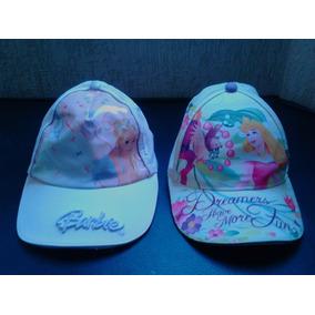 Gorras Princesa Y Barbie Para Niña