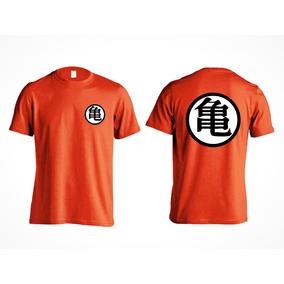 Camisa Filho Infantil Goku Dragon Ball - Kanji 100% Algodão