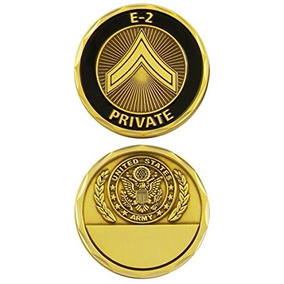 E-2 Coin Challenge Ejército De Ee.uu. Privado