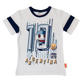 Playera Mexico Argentina Futbol Fc De Emoji Oficial b4637c4630490
