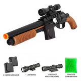 Airsoft Rifle Shotgun Escopeta Spring Smith Wesson M3000 6mm