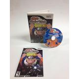 Naruto Clash Of Ninja Revolution - Nintendo Wii (usado)