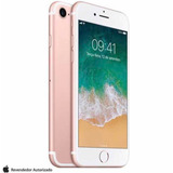 iPhone 7 Rose 128gb Garantia12mesesapplelacrado12xsem Juros