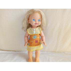 Boneca Antiga Tre- Le- Le Da Estrela