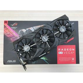 Placa De Vídeo Asus Strix Oc Radeon Rx Vega 56 8gb Hbm2 Amd