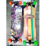 Skate Longboardaing Tatto Top 12x S/ Juros Com Frete Gratis