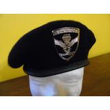 Boina Negra Comandos Ejército Envío Gratis