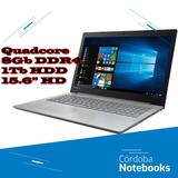 Notebook Lenovo Quadcore 8gb 1tb 15.6 Windows 10 - A12-9720p