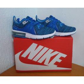 Zapato Deportivo Nike Air Max Sequent 3 Azul