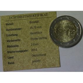 1449aee1d0 Alemanha 2 Euro 2013 D Elysee Treaty Bi-metallic Bimetalica