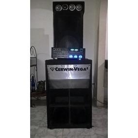 Sonido Semi Profesional Cerwin Vega Cajon Twittera Planta