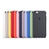 Funda + Mica Vidrio Para iPhone Silicon 6 7 8 X Xr Max Xs